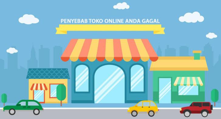 toko online gagal